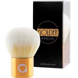Brocha Golden Kabuki Vanity Tools